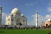 View of Taj Mahal, Agra