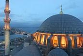 Vista desde la basílica, Estambul