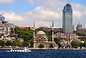 Vista desde el río, Estambul