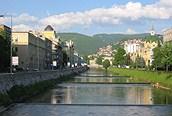 Vista sobre el rio, Sarajevo