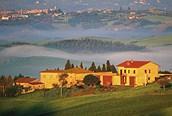 Vista de la Toscana