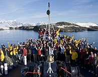 A bordo del buque
