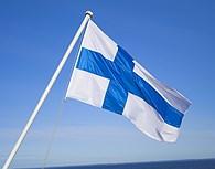 Bandera finlandesa