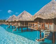 Bungalows, Tahiti