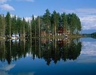 Cabañas en los lagos
