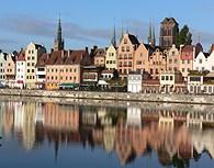 Casas junto al rio