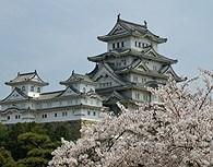 Castillo Himeji en Kyoto