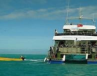 Catamarán en las islas Fiji