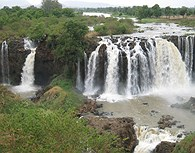 Cataratas Tissisat, Nilo Azul
