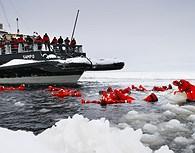 Chapuzón en el Mar Helado, Laponia
