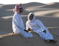 Descansando en el desierto