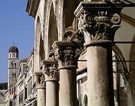 Detalle de la Plaza de Dubrovnik