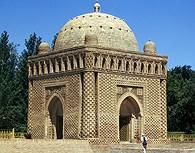 Mausoleo de Ismail Sama en Bujara