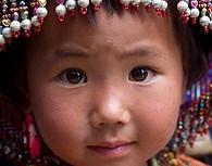 Niña en Yunnan