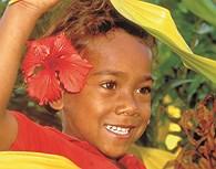 Niña de Fiji