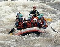 Rafting en Leuku