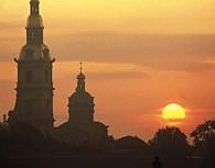 St. Petersburgo al atardecer