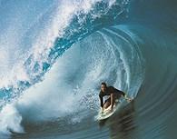 Surf en Bora Bora