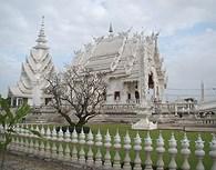 Templo blanco, Chiang Mai
