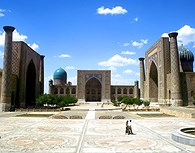 Vista en conjunto, Samarkanda